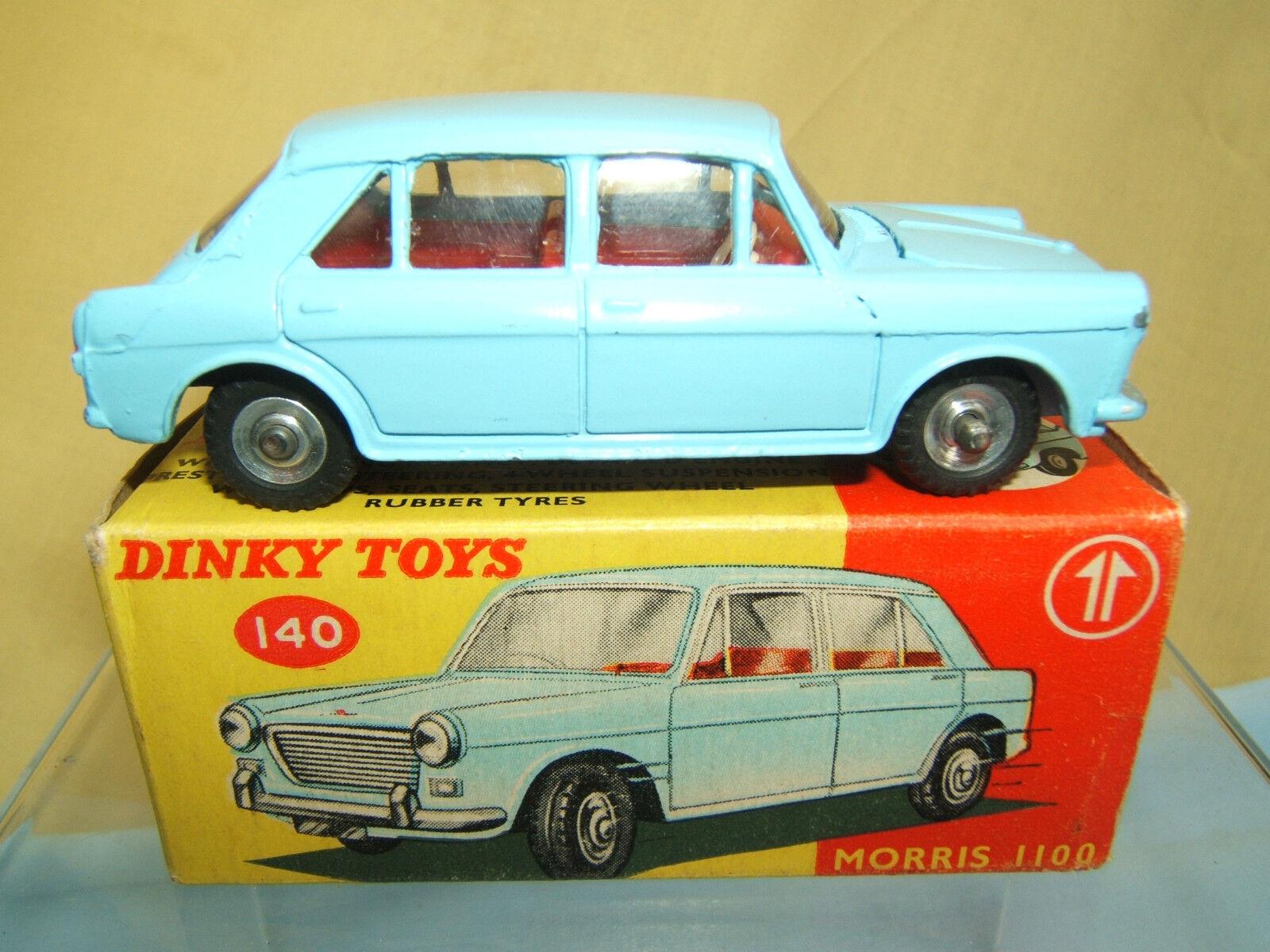 VINTAGE DINKY giocattoli modello N.140 MORRIS 1100 SALOON VN MIB