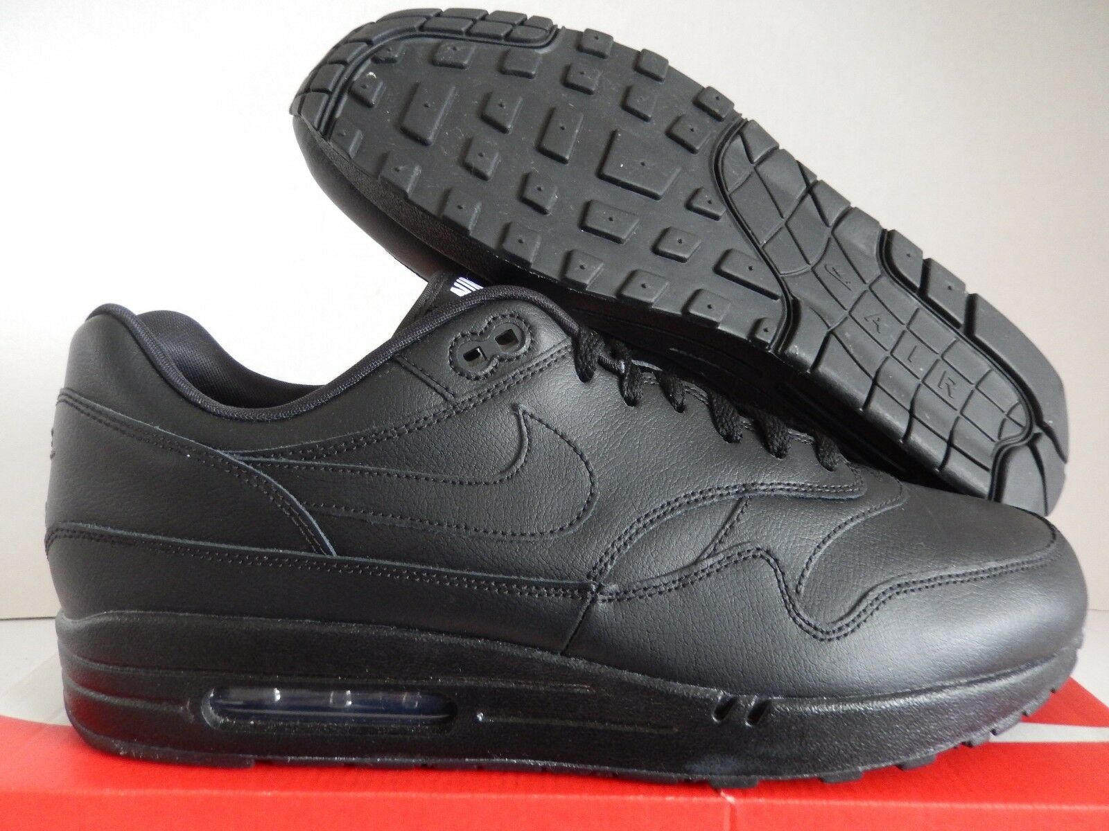 pretty nice f35ed 50d8a NIKE AIR MAX 1 LEATHER LEATHER LEATHER ID LTHR