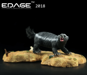 EDAGE Resin Honey Badger Animal statues Model Collect Ornaments Free Shipping