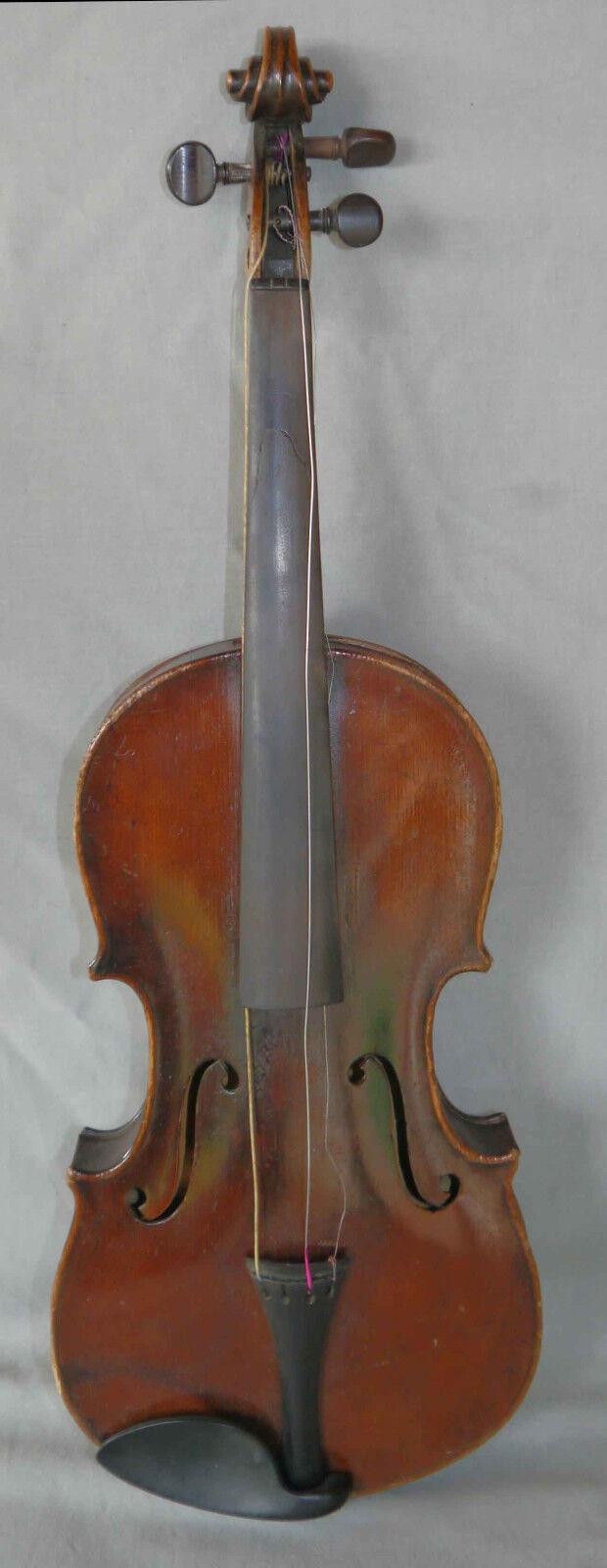 Rare violon ancien  Emile Blondelet 4 4  à restaurer