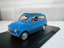 FIAT 500 GIARDINIERA 1960 FABBRI AUTO VINTAGE LEO MODELS 1/24