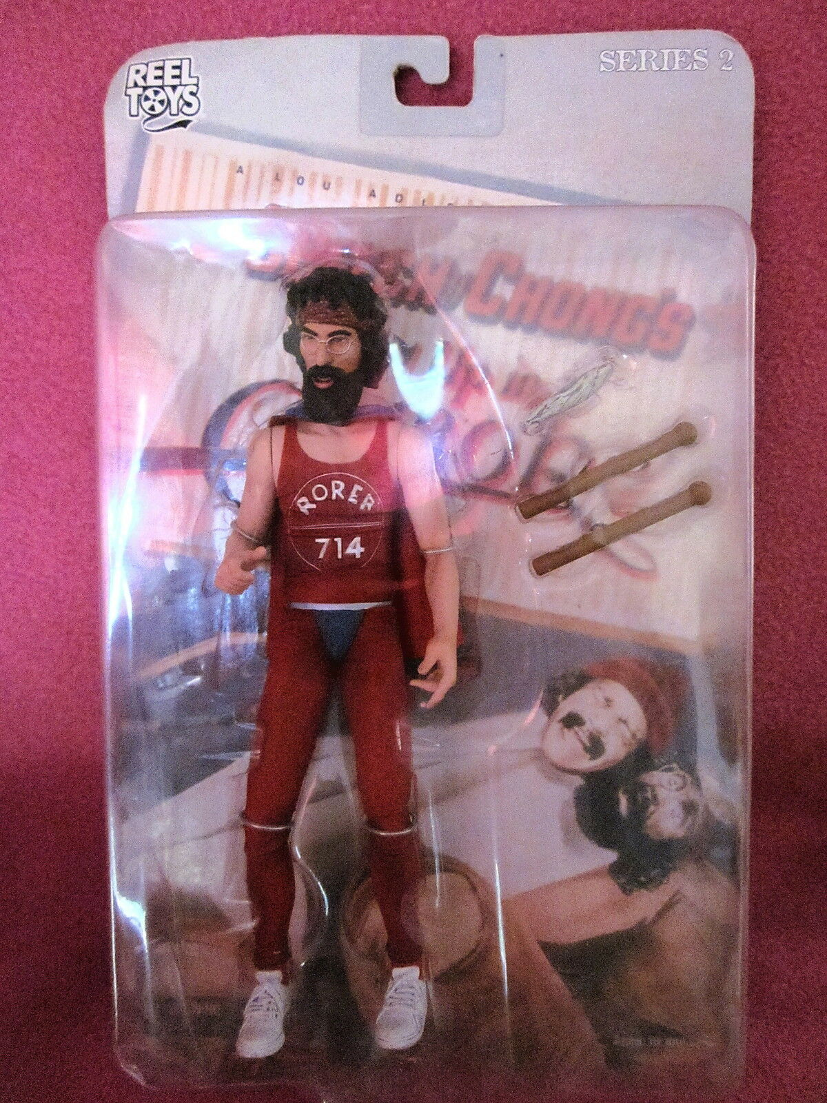Reel Toys Cheech & Chong's Up In Smoke Man/Tommy Chong Figure