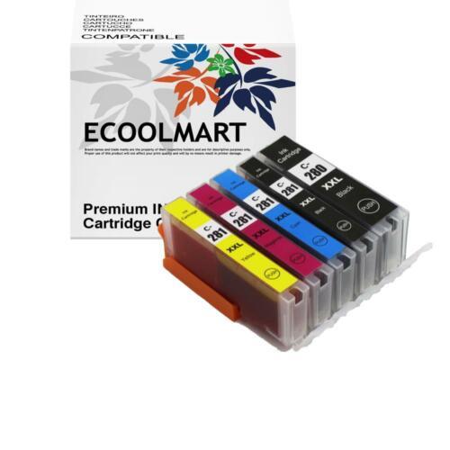 5PK PGI-280 CLI-281 XXL Ink for Canon Pixma TR7520 TR8520 TS6120 TS8120 TS9120