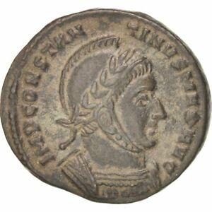 Ric 82 Colours Are Striking Follis Constantine Ist Ticinum #402208 306-337