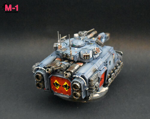 Warhammer 40k Space Wolves Repulsor Executioner M1 painted