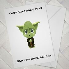 BIRTHDAY CARD Cheeky Funny Naughty Joke Humour OLD OLDER AGED WISDOM