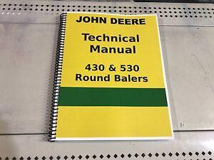 John Deere 530 Round Hay Baler Technical Service Shop Repair Manual. Is Loading Johndeere530roundhaybalertechnicalservice. John Deere. John Deere 430 Baler Wiring Diagram At Scoala.co