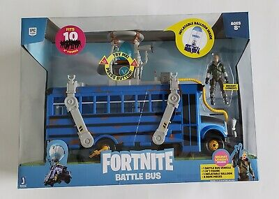 PRIORITY SHIP! Fortnite Battle Bus Deluxe Vehicle Pack NEW 2020 Toy
