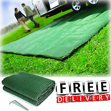 Rv Patio Awning Mat Reversible Outdoor Rug 9x12 Black Silver