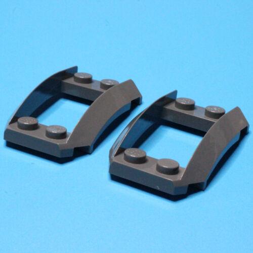 47755 LEGO®  2x Kotflügel 2x4x1 1//3 dunkelgrau 4294289