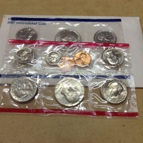 1981 US Mint Set