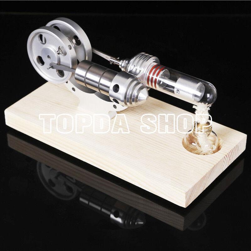 1pc Hot Air Stirling Engine Model Toy Mini Mini Mini Motor