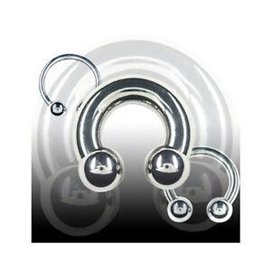 1-6mm-Hufeisen-Piercing-Circular-Barbell-Lippe-Ohr-Intim-Brust-Piercing