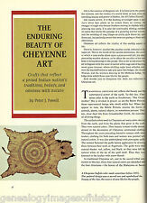 INDIAN ARTIFACTS AND ART OF THE CHEYENNE TRIBE