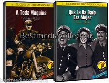 A Toda Maquina y Que Te Ha Dado Esa Mujer 2 DVD Pedro Infante Includes Extras!