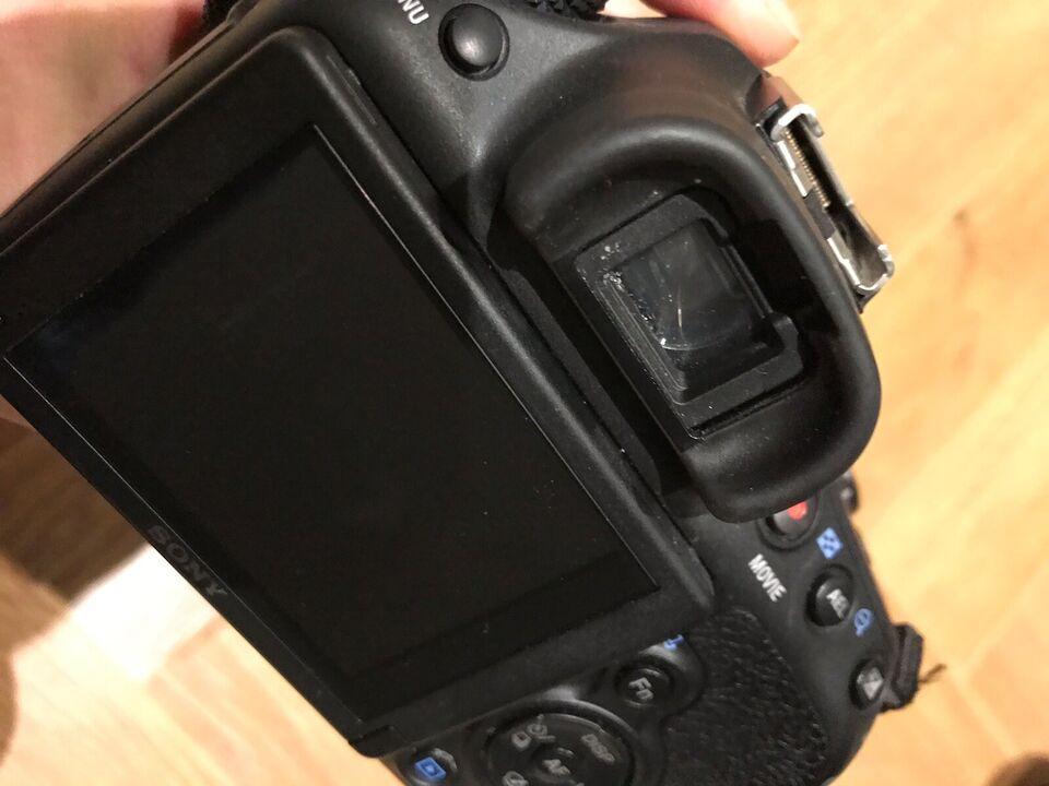 Sony, spejlrefleks, 20.1 megapixels