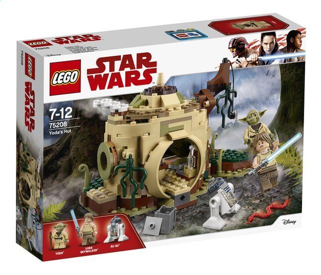 Lego - Set 75208 Star Star Star Wars - Yoda's Hut - NEW - SEALED 4358f0