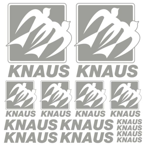 Knaus old xl decal sticker rv caravan caravan 14 parts