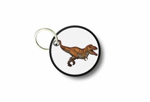 Keychain keyring print patch morale dinosaur funny kids applique r3