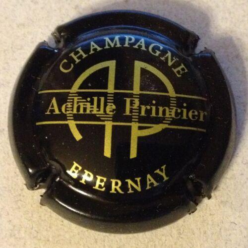 14b. noir et or Capsule de champagne PRINCIER Achille