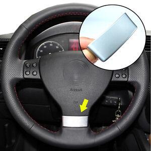Cubierta-del-Volante-de-insercion-de-cromo-para-VW-Golf-MK5-5-GTI-Passat-B6-3C-EOS-caliente-y