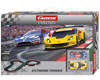Carrera Evolution Extreme Power Analog Slot Car Race Set 25218