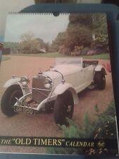 Old Timers Vintage Car Calendar 1977.