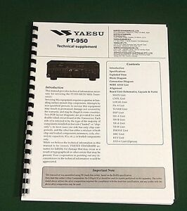 Yaesu ft-950 service manual download.