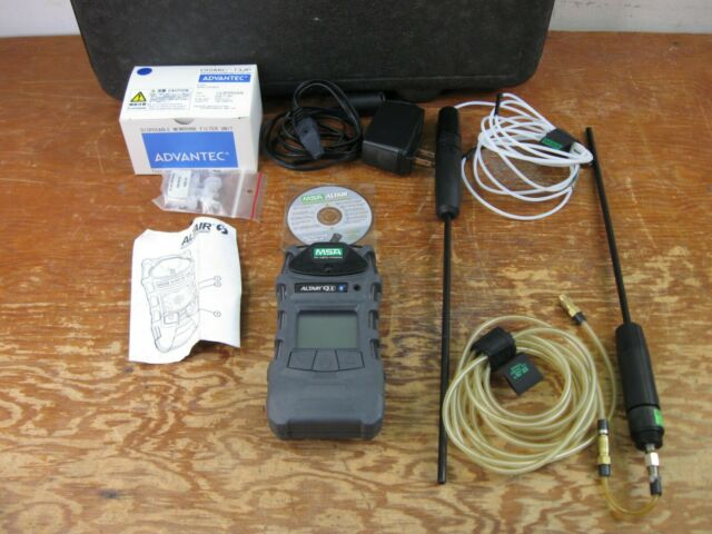 MSA 10116926 ALTAIR 5X PORTABLE GAS DETECTOR INDUSTRIAL KIT Bluetooth