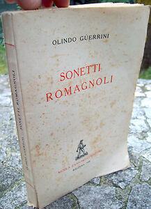1948-SONETTI-IN-DIALETTO-ROMAGNOLO-DI-OLINDO-GUERRINI-EDIZIONE-ZANICHELLI