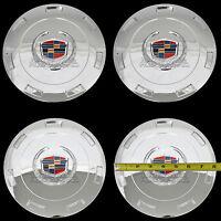 4 Chrome Escalade 22 Wheel Center Hub Caps 6 Lug Hubs Nut Cover 7 Spoke Rim Rc