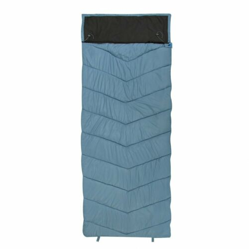 10T Burnum - XXL Saco de Dormir Momia con almohada capucha, hasta -11ºC, 230x90