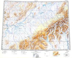Russian Soviet Military Topographic Maps - McGRATH (USA, Alaska),1 ...