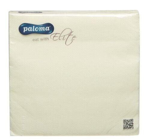 Paloma 2ply Servilletas Servilletas papel blando 40CM X 40CM Color Paquete de 50