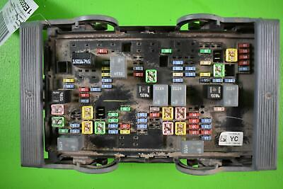 2007 - 2009 Chevy Silverado 2500 Engine Fuse Box 6.6L ...