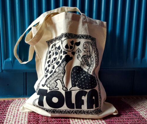 TOLFA animal charity Cotton Tote Bag