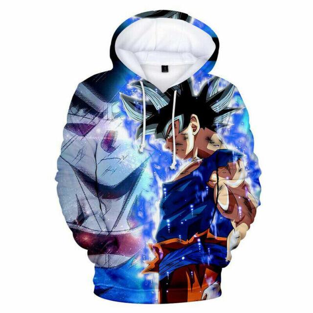 Dragonball Z GoKu 3D Print Hoodies Sweatshirt Unisex Casual Pullover Jumper Tops