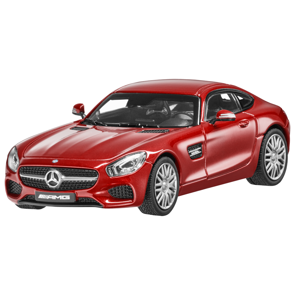 1:43 NOREV 2015 MERCEDES-BENZ AMG GT S (C190) red COLLECTIBLE DEALER PROMO !!!