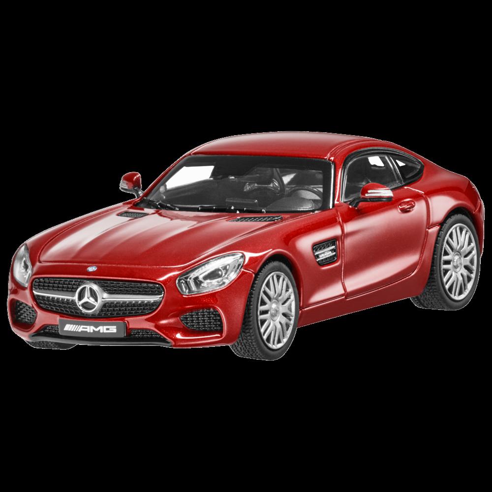 1 43 NOREV 2015 MERCEDES-BENZ AMG GT S (C190) rojo COLLECTIBLE DEALER PROMO