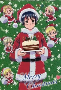 Hetalia Christmas Island.Details About Big Card Promo Hetalia Axis Powers Anime Denmark Norway Iceland Finland Sweden