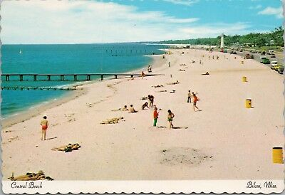 Central Beach Biloxi Ms Mississippi Gulf Coast Unused Vintage