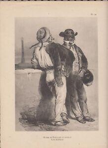Détails sur Phototypie LALAISSE costumes bretons pl99 HOMME DE PORNICHET ET  MATELOT