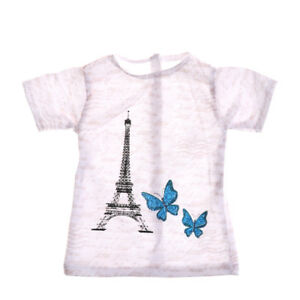Dolls-Accessories-18-Inch-Doll-T-shirt-For-Kids-Gifts-BP