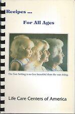 VISTA BARSTOW CA LIFE CARE CENTERS OF AMERICA COOKBOOK CALIFORNIA ETHNIC RECIPES