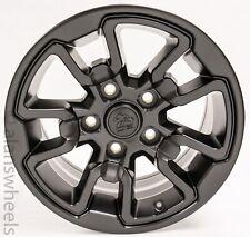 4 New Dodge Ram Rebel 02 18 1500 Satin Black 17 Wheels Rims Lugs Durango 2553