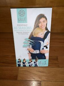 New-LILLE-Baby-All-Seasons-4-in-1-Essentials-Carrier-Park-Place-retail-99