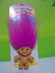 Yellow Hair RARE GOOD LUCK RING NEW Russ Troll Doll