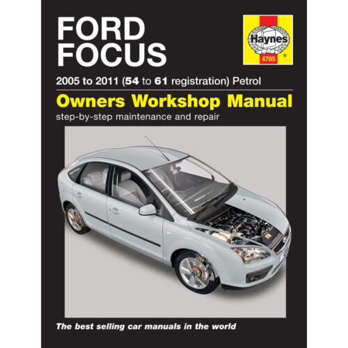 ford focus mk2 2005 2011 haynes workshop manual 4785 ebay rh ebay co uk 2007 Ford Focus Service Book 2007 Ford Focus Maintenance Schedule