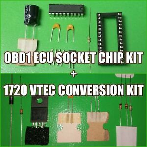 Details about Honda Acura OBD1 ECU Chip Socket + VTEC Conversion Kit 1720  Board - P05 P06 PR4