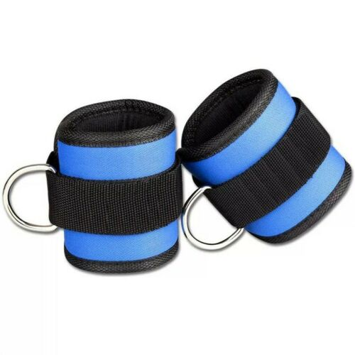 2X  Ankle Anchor Straps Pedal Rope Buckle Leg Workout  Fitness Leg Pulley Band
